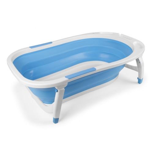 Bañera plegable bebé azul Interbaby