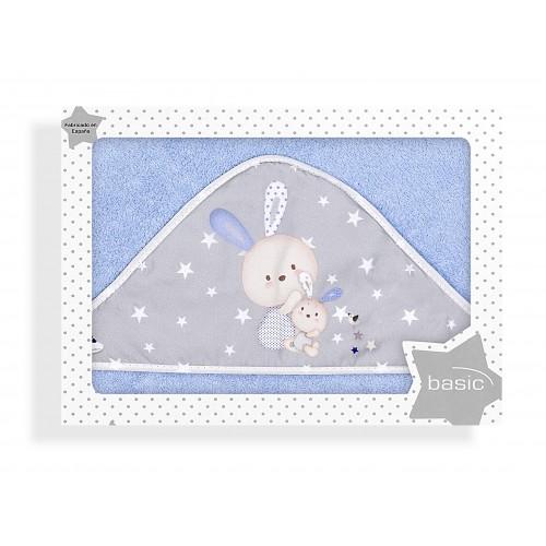 Capa de baño Family Azul Interbaby