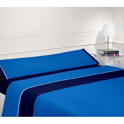 Juego sábanas verano marino-azul - Cama 150