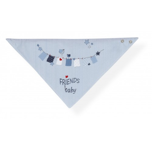 Babero bandana Friends Baby Interbaby