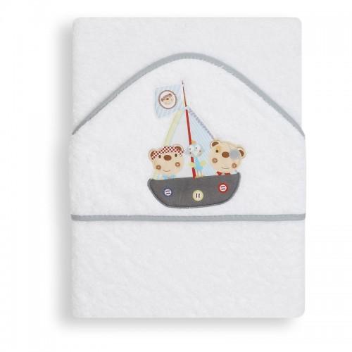 Capa de baño Pirata Interbaby