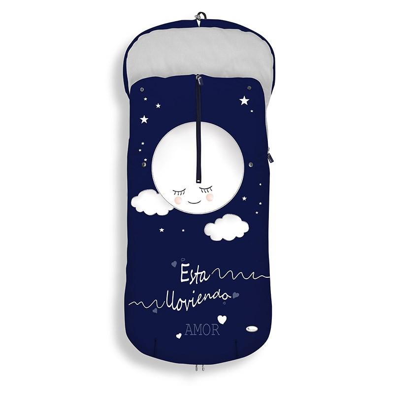 Saco Carro Polar Silla Universal Está lloviendo amor - Interbaby