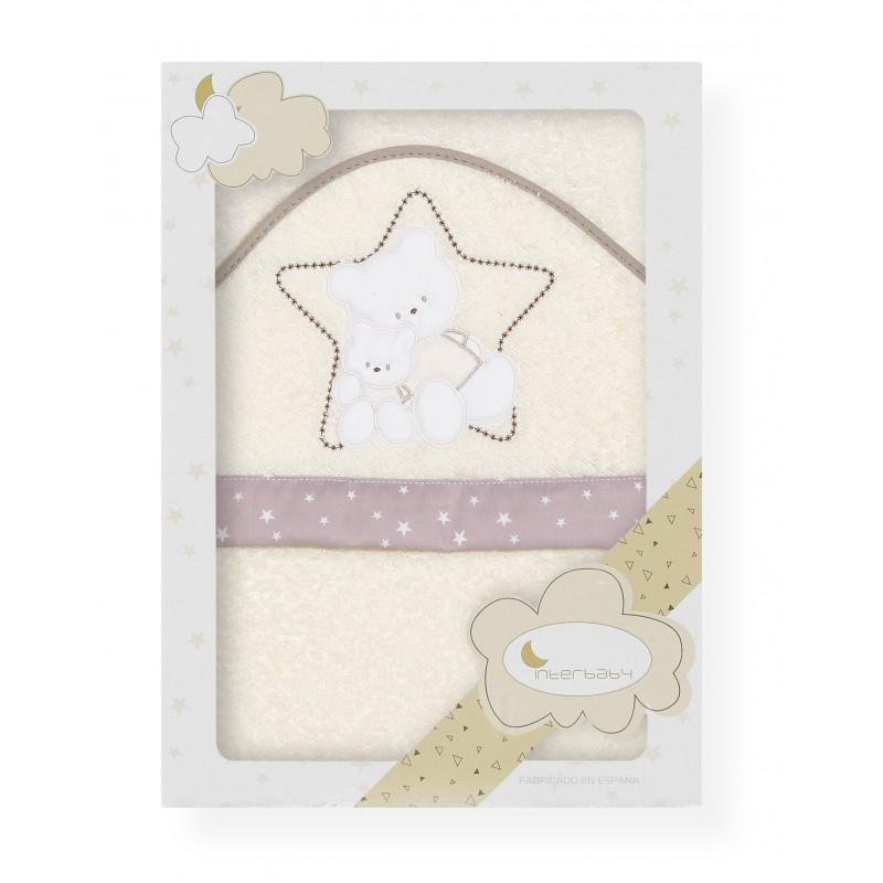 Capa de baño Osos Estrella Interbaby