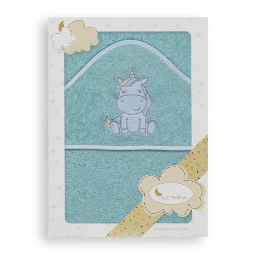 Capa de baño Unicornio Interbaby