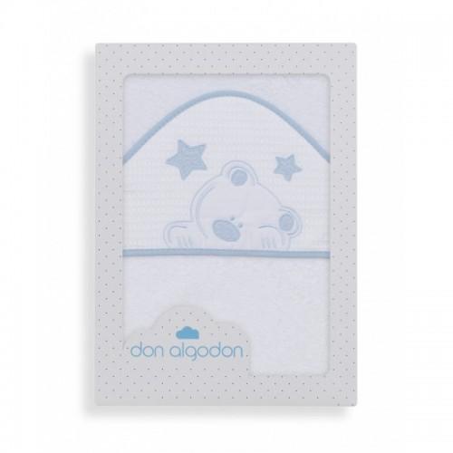 Capa de baño Viggo blanco/azul